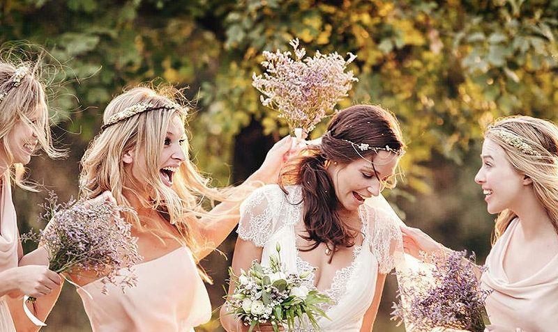 Umbrian Magic Casts A Spell Over Whimsical Wedding Featuring Children's Literature