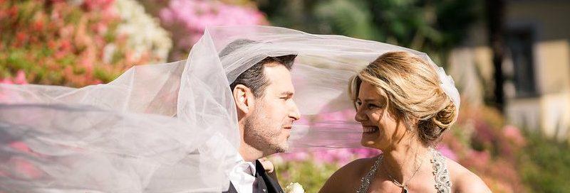 An Intimate 'Enchanted April' Destination Wedding Elopement at The Filmic Villa del Balbianello